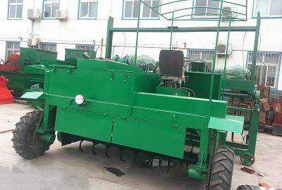 有机肥轮式翻堆机