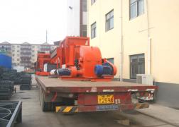发往桂林有机肥设备发货