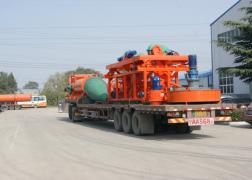 发往宁夏中卫有机肥整套生产设备
