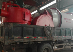 安徽有机肥设备发货现场