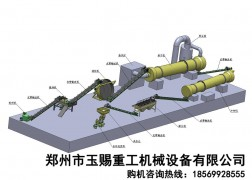 圆盘造粒生产线工艺图