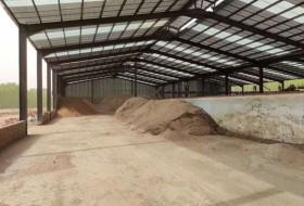 年产1万吨的有机肥生产线需要多大的占地面积?